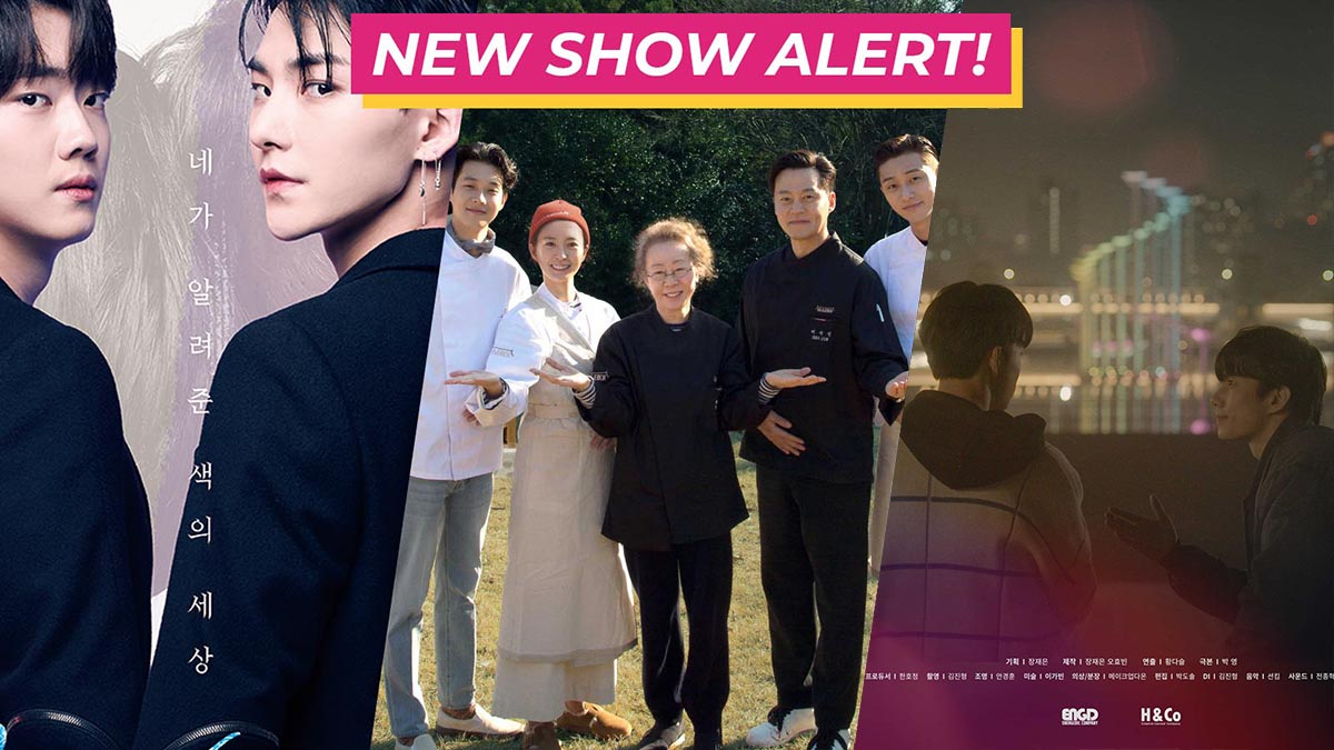 NEW SHOW ALERT (Attack On Titan, Youn's Stay, I Can See Your Voice, Colour Rush, To My Star)