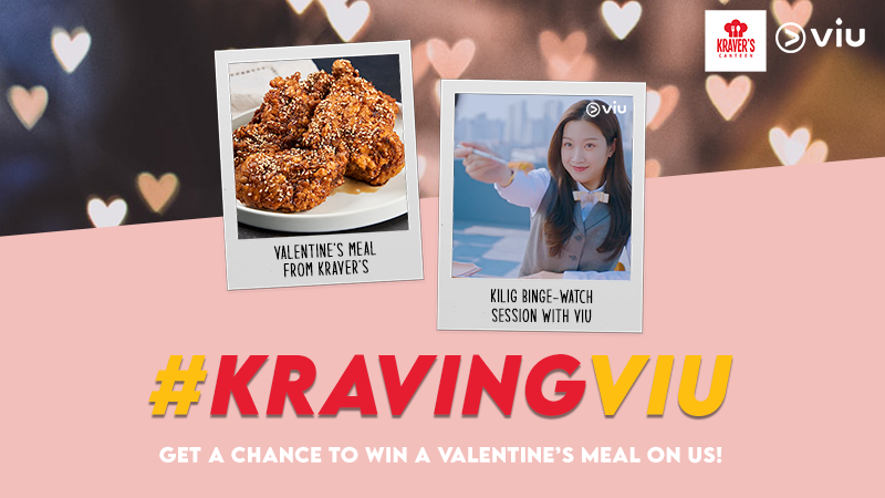 Viu Valentines with a special treat: binge watch romantic series with your favorite comfort food
