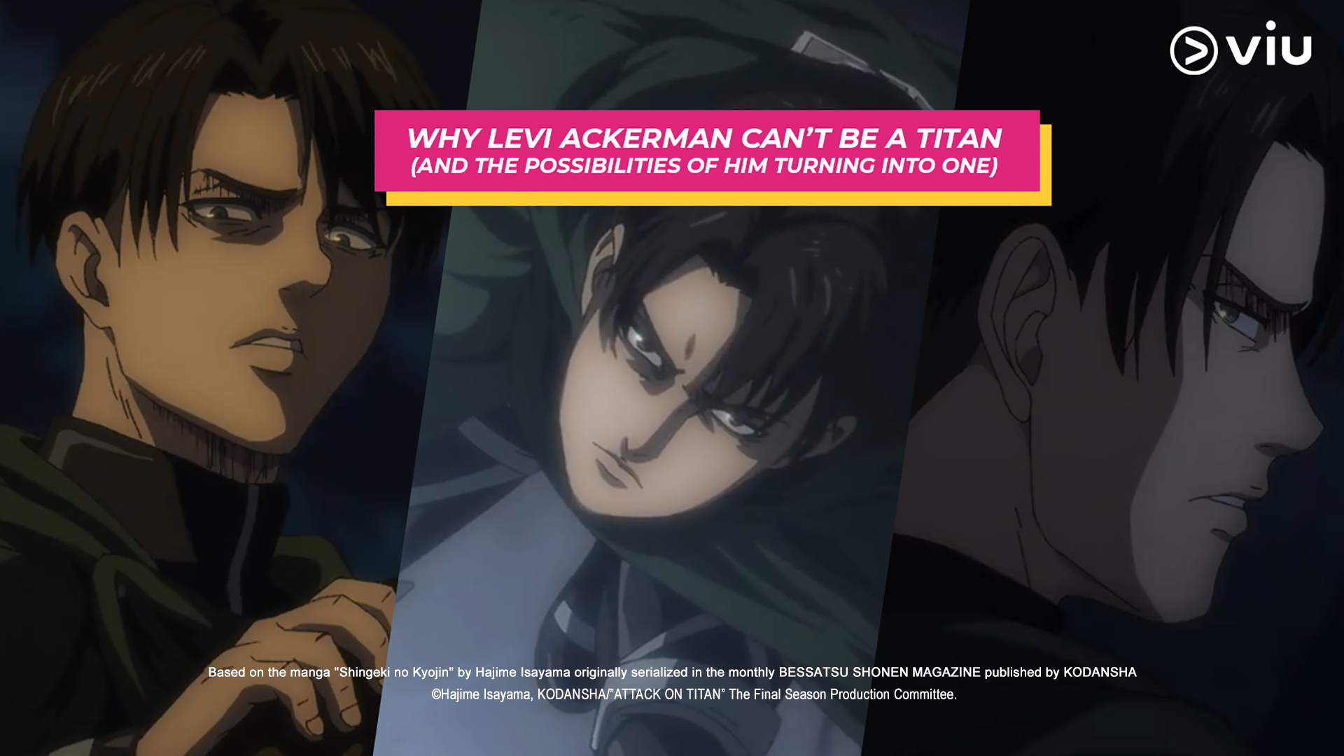 Attack On Titan: Why Levi Ackerman Can't Be A Titan (And The Possibilities Of Him Turning Into One)