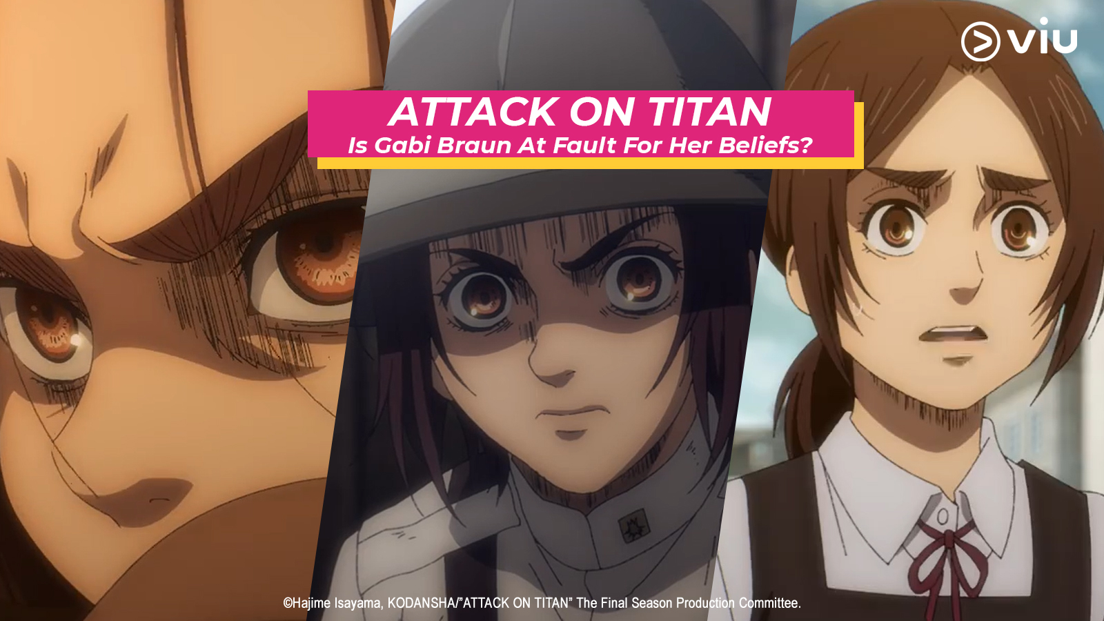 Attack On Titan: Is Gabi Braun At Fault For Her Beliefs?