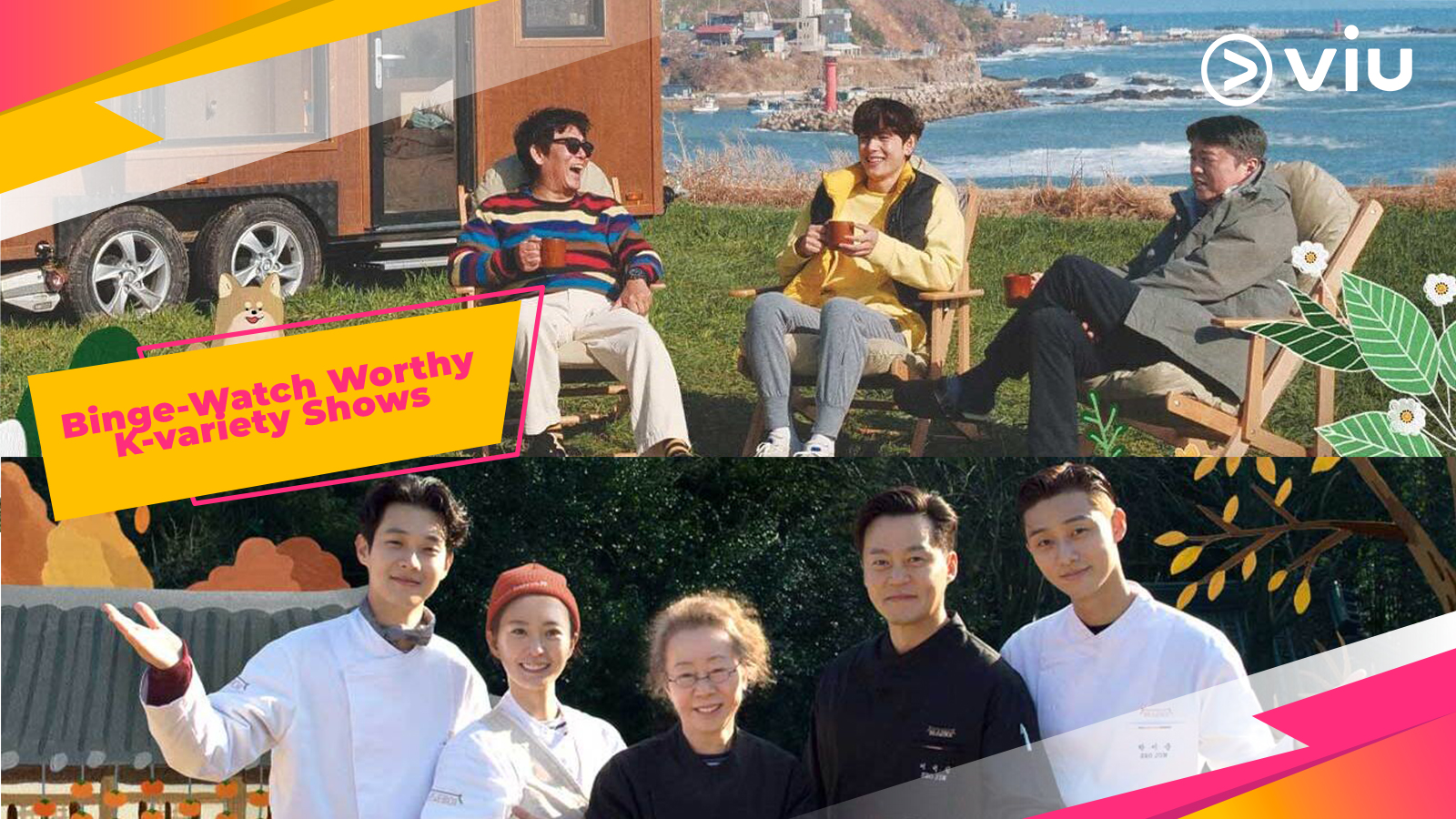 Binge-Watch Worthy K-variety Shows That Will Give You The Perfect Escapade At Home